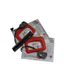 Kit électrodes et batterie Lifepak Cr Plus Physio Control 2 Paires d'Electrodes
