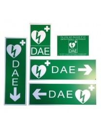 Kit Signalétique Défibrillateur  DAE conforme norme ILCOR