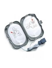 Paire d'Electrodes FRx Défibrillateur Heartstart Philips Laerdal