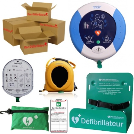 Pack Entreprise Défibrillateur Samaritan Pad 350P