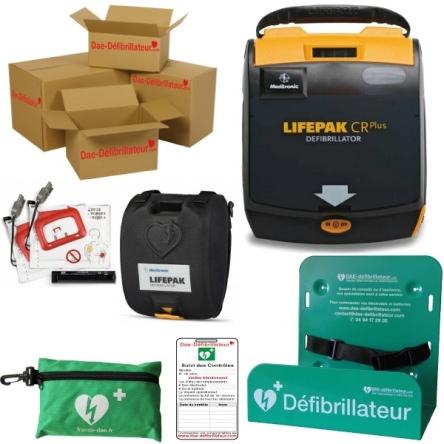 Pack Défibrillateur Entreprise Lifepak CR Plus