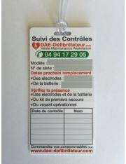 Carte de Suivi des Maintenances Défibrillateur