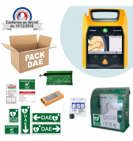 Pack DAE Extérieur Mindray D1