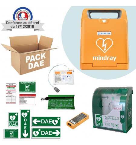 Pack DAE extérieur Mindray C1A