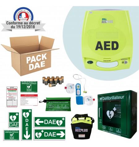 Pack Défibrillateur Zoll AED Plus