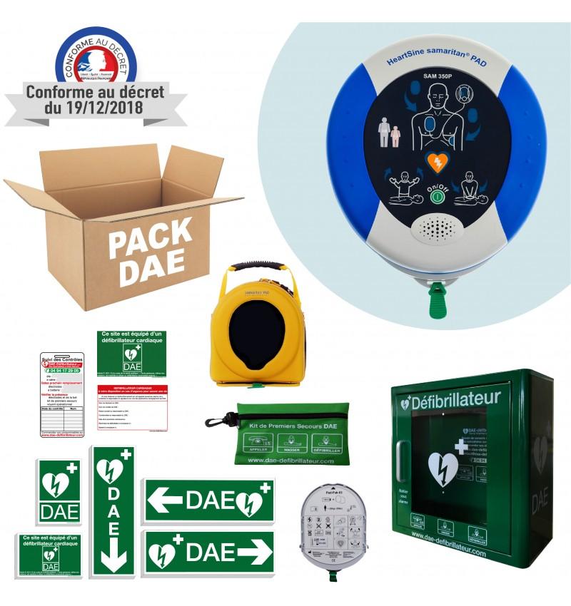 Pack Défibrillateur Sam 350P Sam 360P