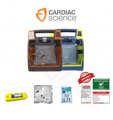 Électrodes et batterie PowerHeart G3 Cardiac Science