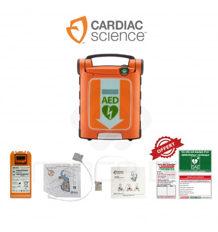 Électrodes et batterie PowerHeart G5 Cardiac Science