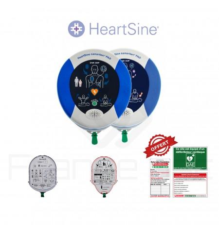 Électrodes et batterie Samaritan Heartsine