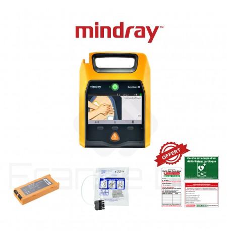 Électrodes et batterie Beneheart D1 Mindray