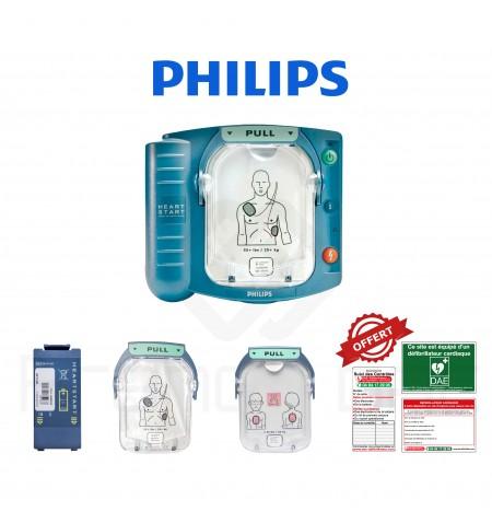 Électrodes et batterie HS1 et FRx