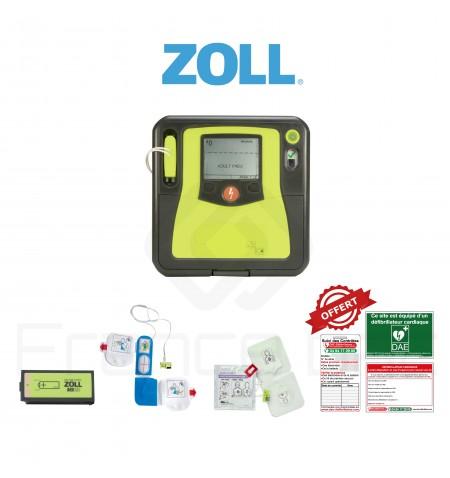 Électrodes et batterie AED pro
