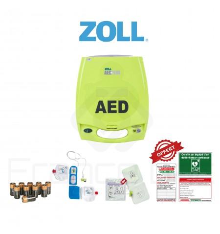 Électrodes et batterie AED plus