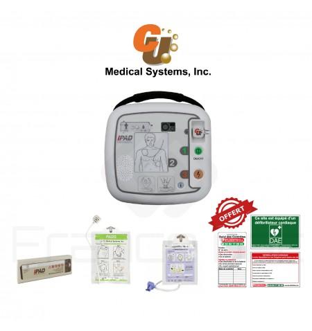 Électrodes et batterie I-PAD CU Medical systems SP1