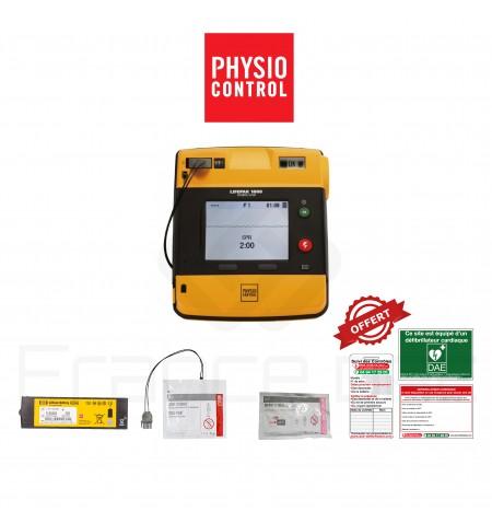 Électrodes et batterie Lifepak 1000 Physio-control