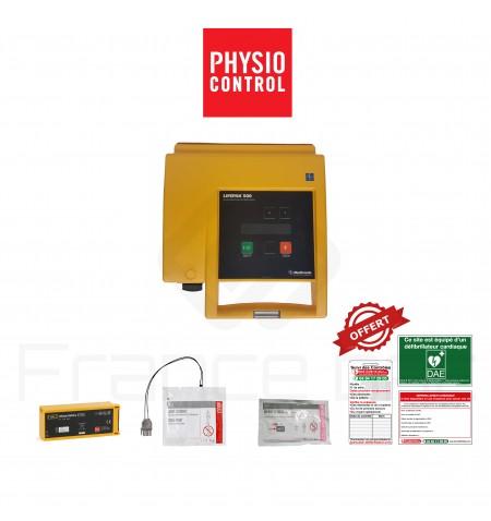 Électrodes et batterie Lifepak 500, 1000 et CR+ Physio-control