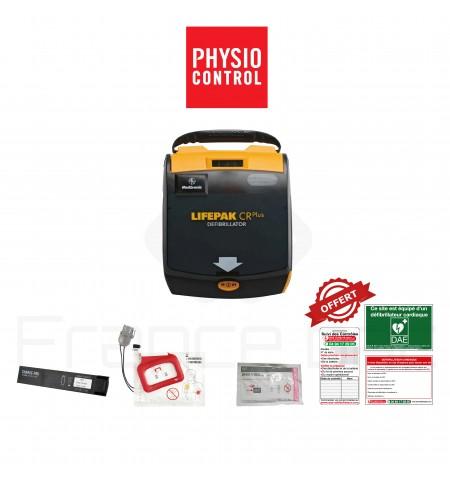 Électrodes et batterie Lifepak CR+ Physio-control