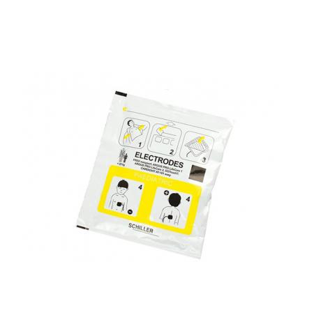 Electrodes pédiatriques Schiller Fred EasyPort