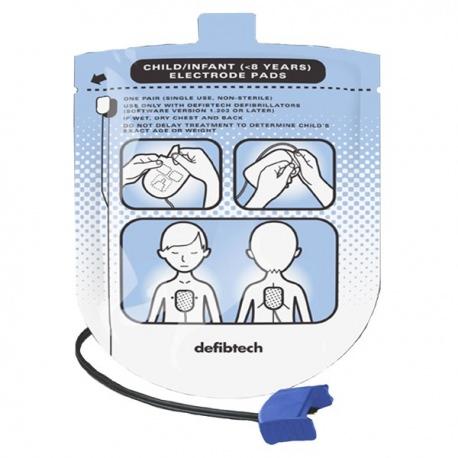 Défibtech Electrodes Pédiatriques