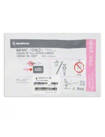 Electrodes Pédiatriques Lifepak CR + 1000 et 500 Physio Control