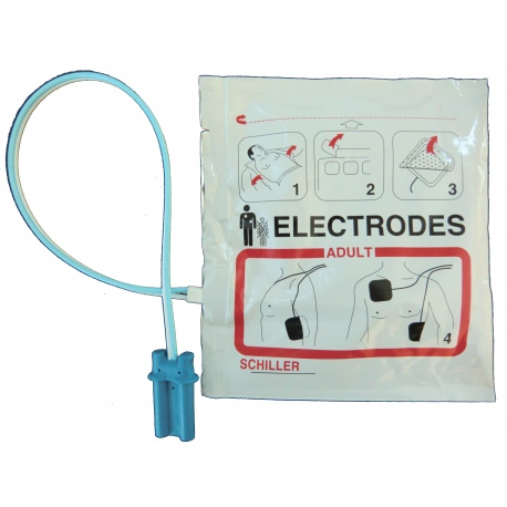 Electrodes Adulte Fred Easy Schiller