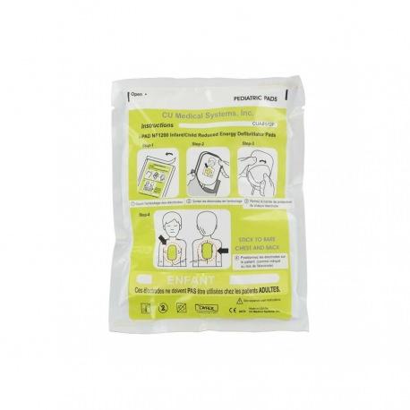 Electrodes Pédiatriques I-PAD NF-1200 Défibrillateur CU Medical