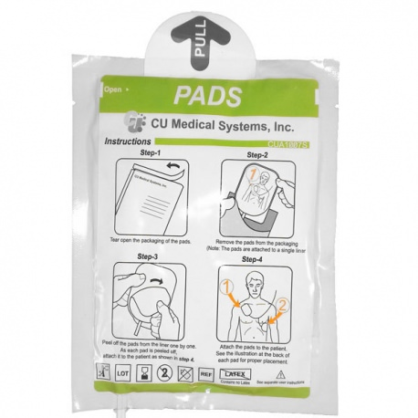 Electrodes Adultes I-PAD SP1 Défibrillateur CU Medical