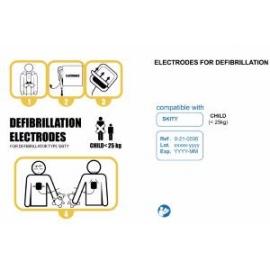 Electrodes Pédiatriques Skity Schiller